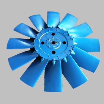 Marine axial fan aluminum impeller